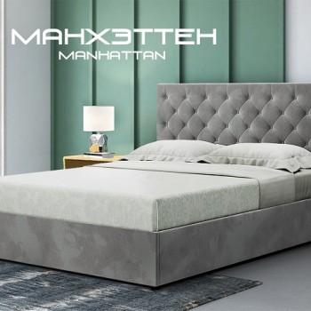 Кровать Манхэттен мягкая