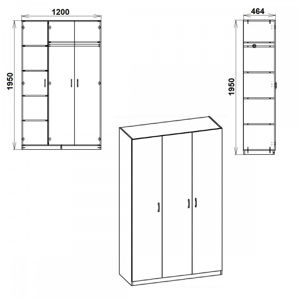 Шкаф-15 Компанит