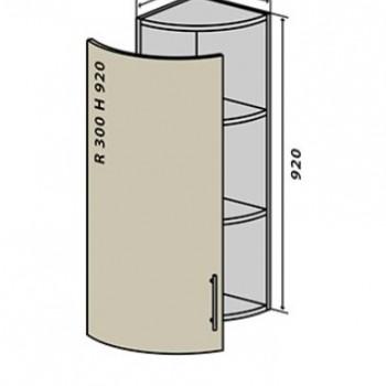 Колор микс №56R верх-92 с дверью