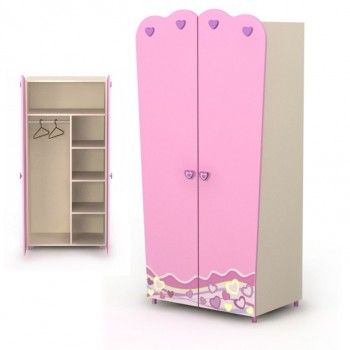 Шкаф 2Д Pink