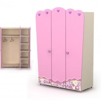 Шкаф 3Д Pink