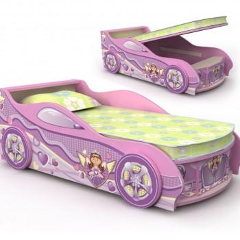 Кровать машинка Pink
