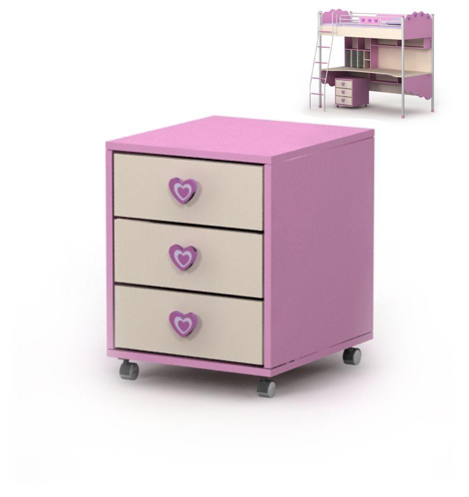 Тумба мобильная Pink