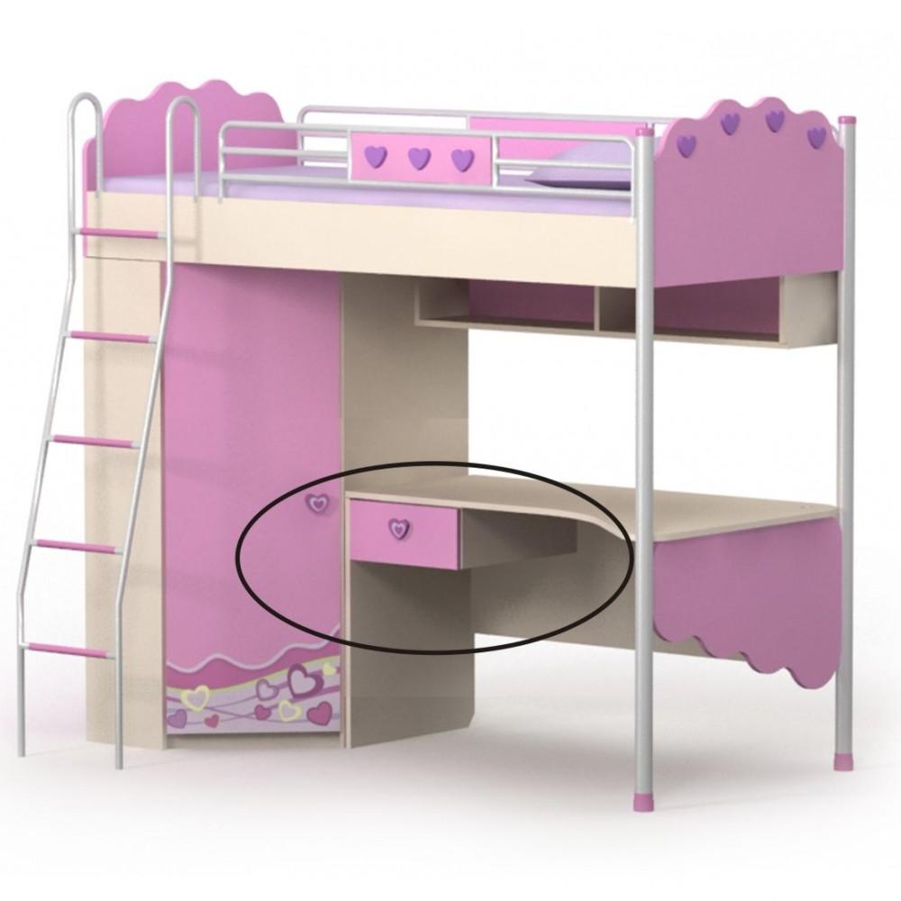 Кровать горка 2 Pink