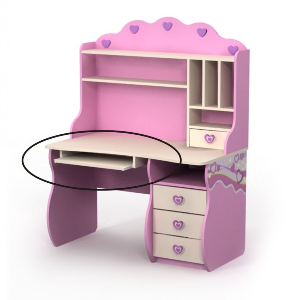 Письменный стол-2 Pink