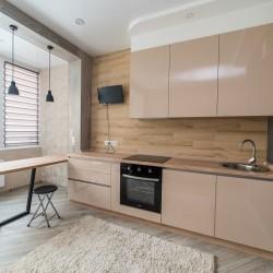 Кухни с пластиковыми фасадами Мандарин-мебель г. О