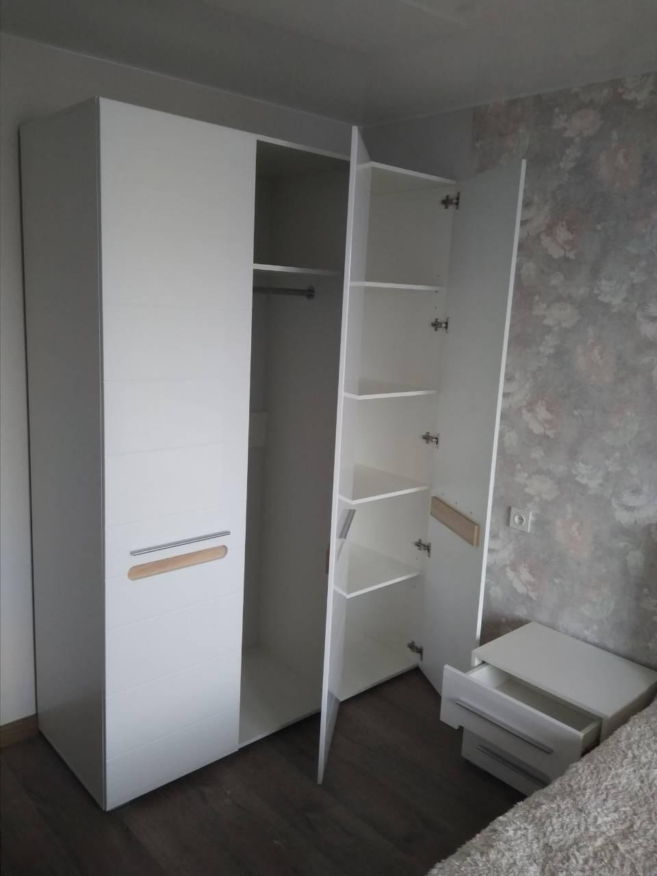 Шкаф Бьянко 3Д