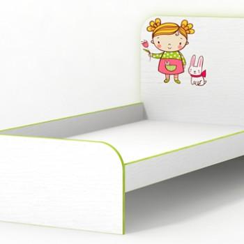 Кровать без бортиков Яблочко