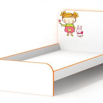 Кровать без бортиков Мандаринка