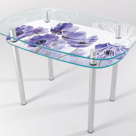 Стол стеклянный КТ-04