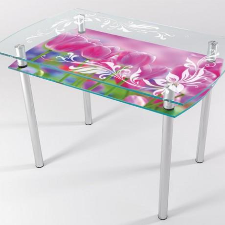 Стол стеклянный КТ-02