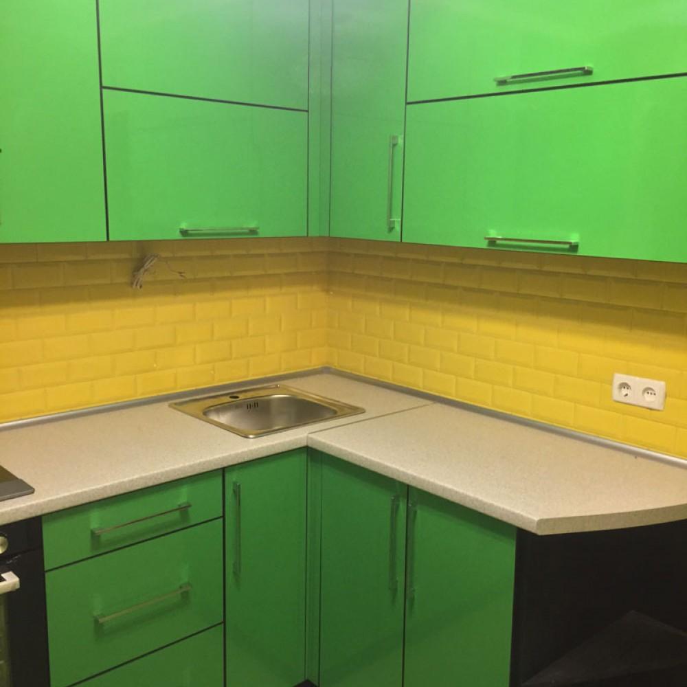 Кухня в пластике 14