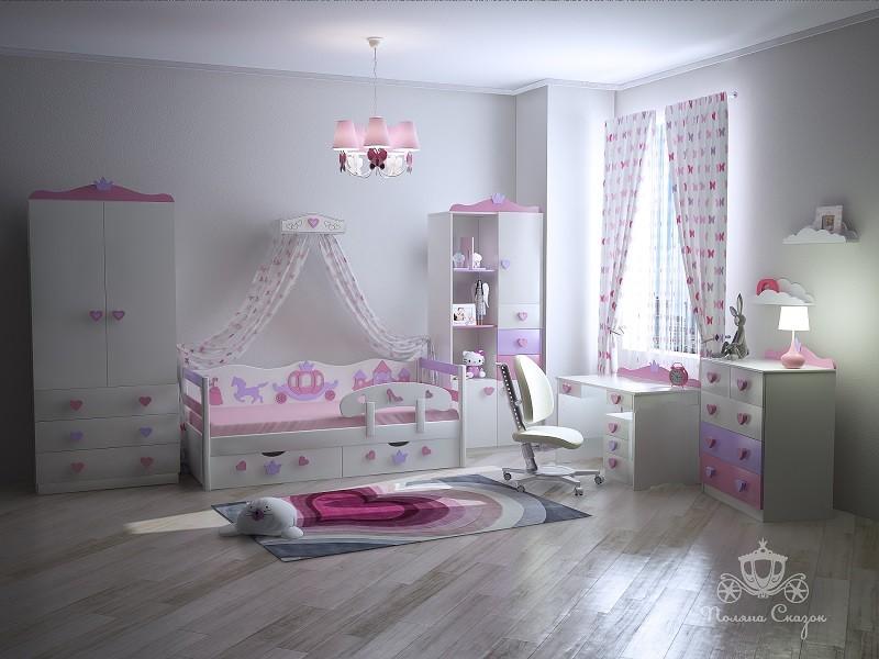 Детская Золушка Pink
