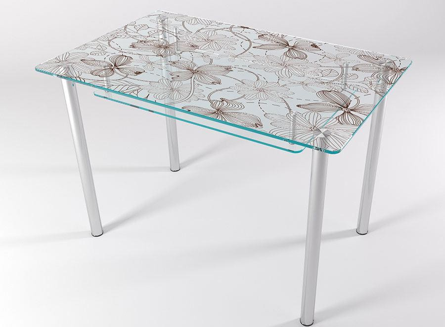 Стол стеклянный КТ-07 1100*700