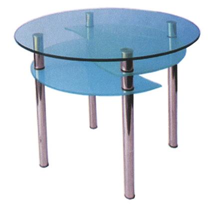 Стеклянный стол Элегант