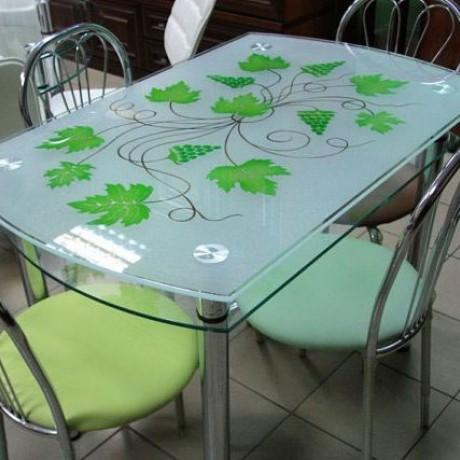 Стеклянный стол КС 2