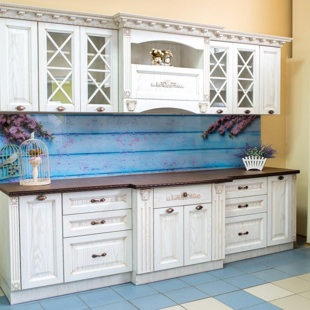 Кухня Ясень Белый