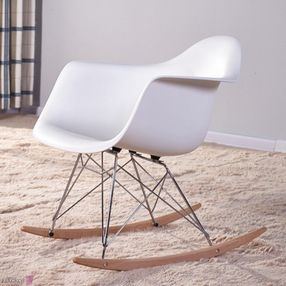 Кресло Лаунж (Черный, Белый)