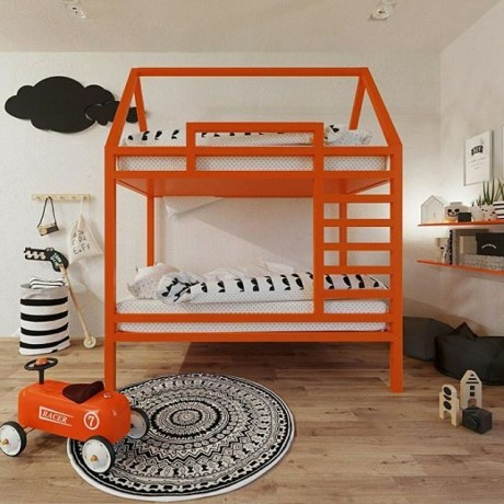 Кровать домик 2-ярусная Древо