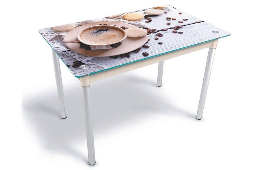 Стол стеклянный Модерн 1200*800