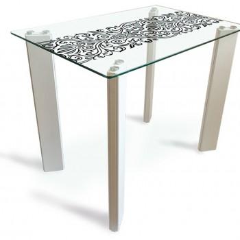 Стол стеклянный Стайл 1100*700