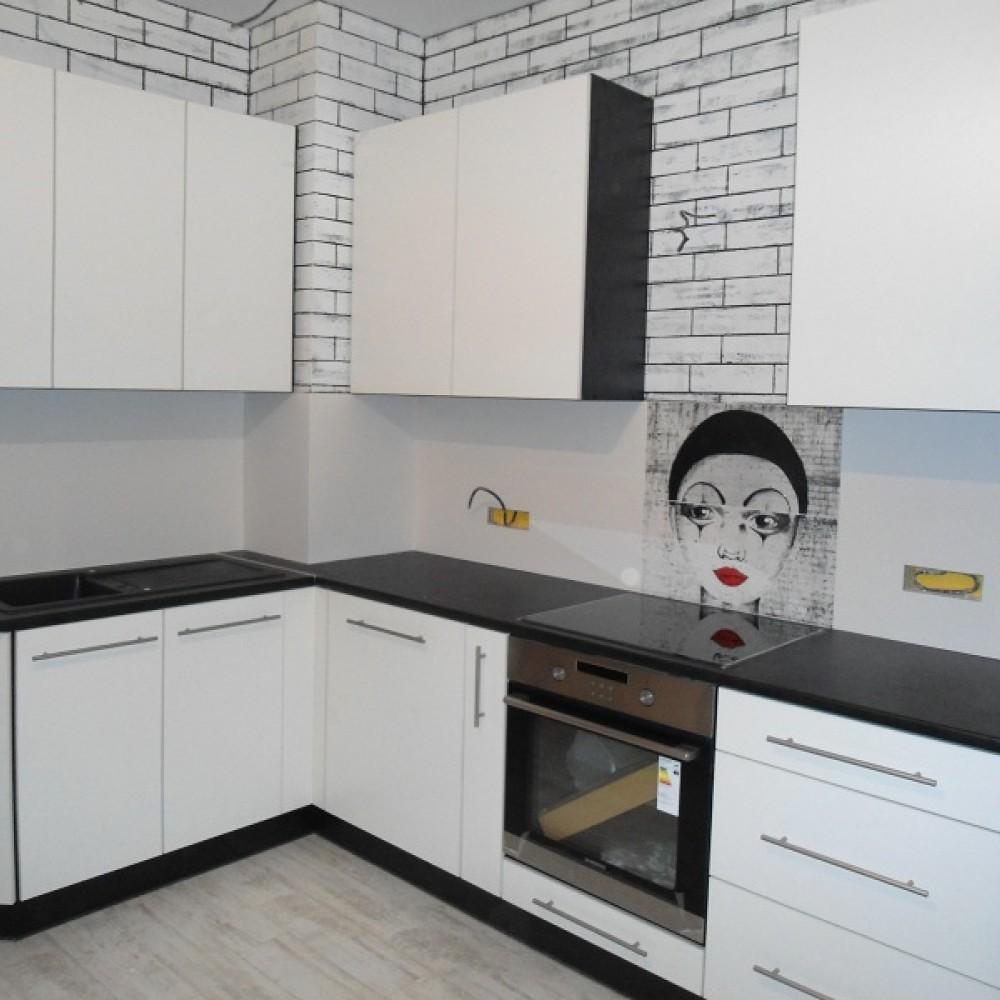 Кухня в пластике 10