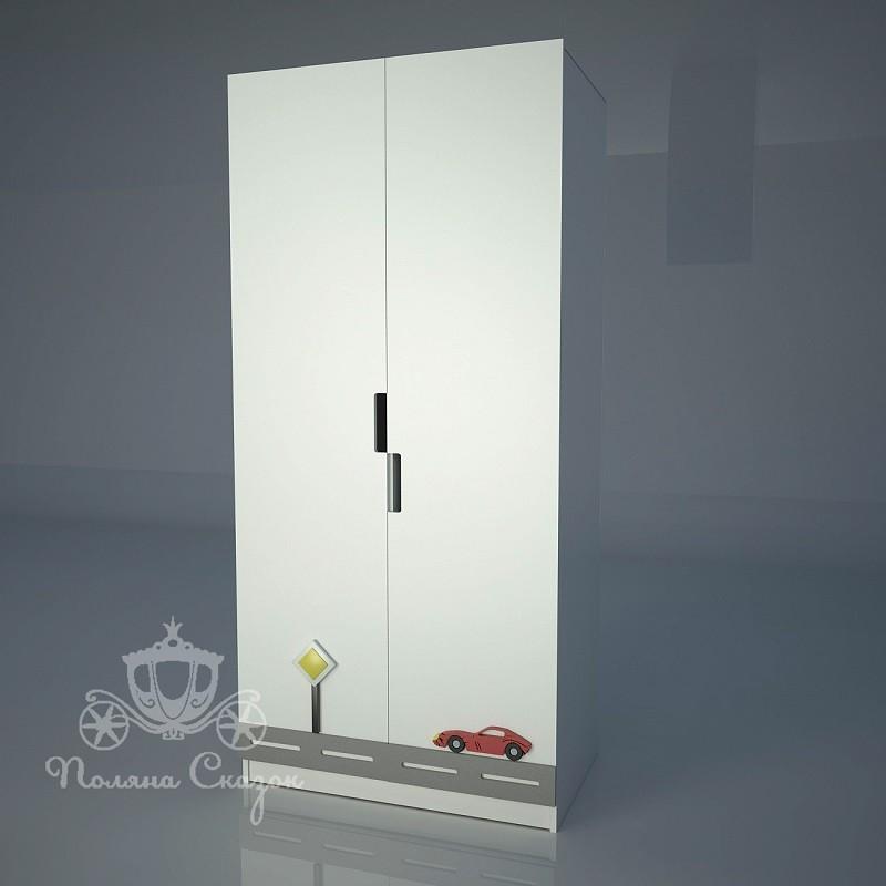 Шкаф 2-створчатый Автомобильчик