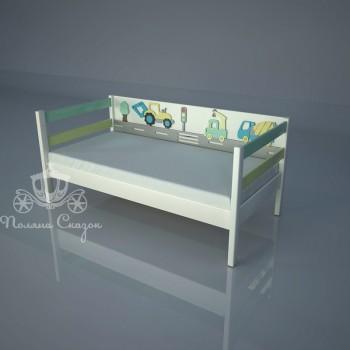 Кровать декорированная Грузовичок