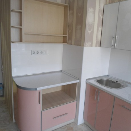 Кухня пластик 9
