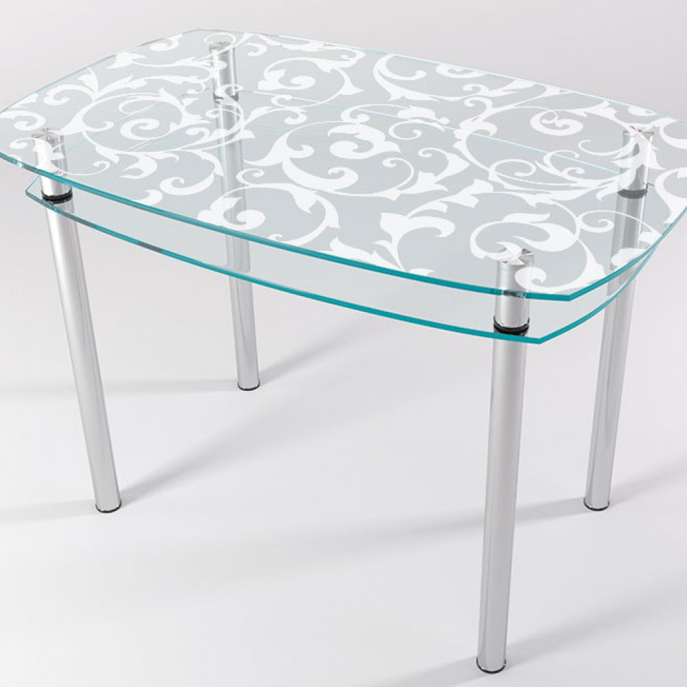 Стол стеклянный КТ-05