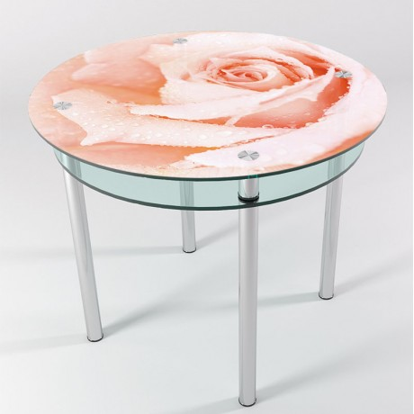 Стол стеклянный КТ-06