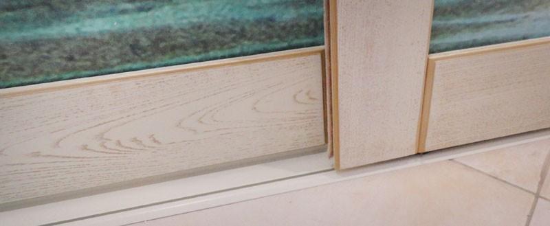 Шкаф-купе из массива Ясеня с патиной