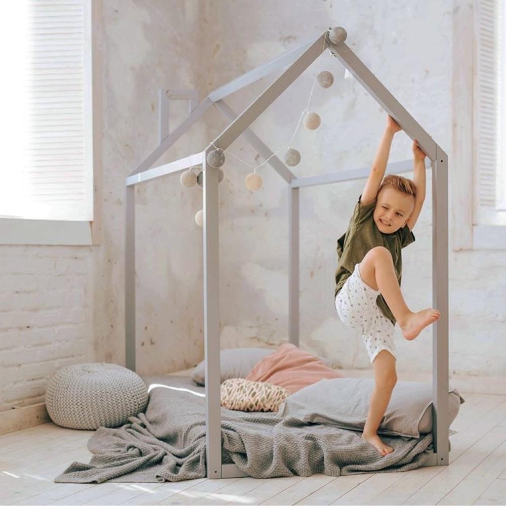 Кровать домик напольный