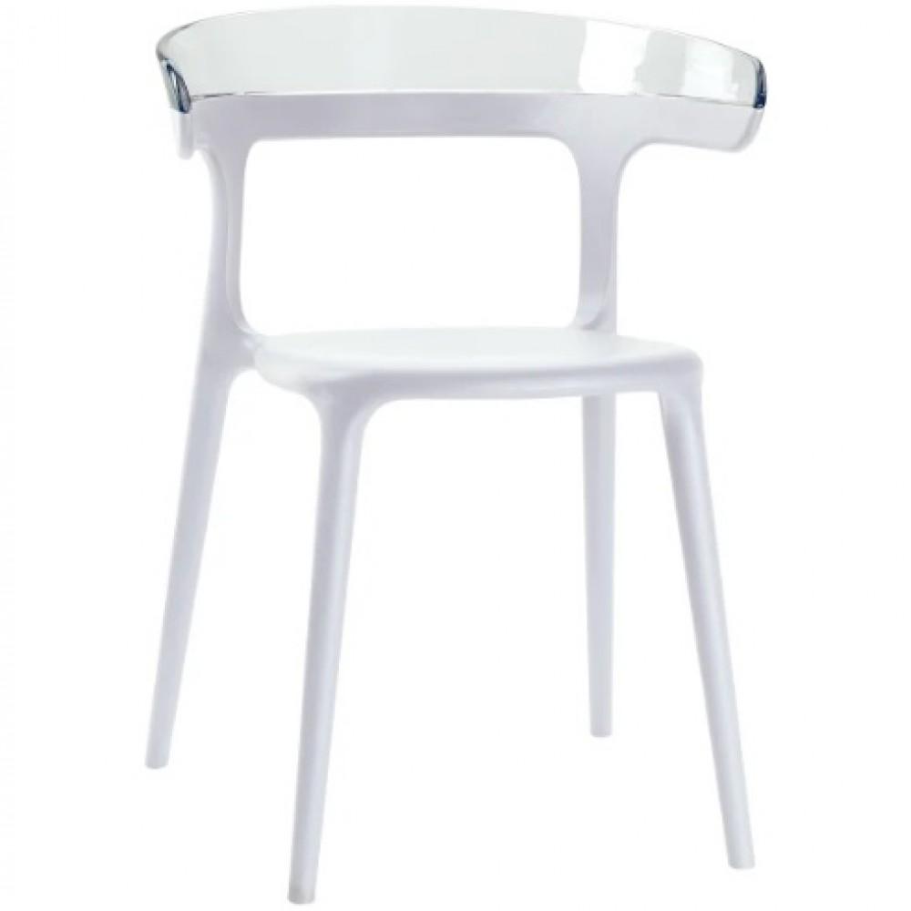 Кресло Luna Луна белый