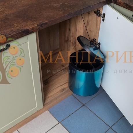 Кухня Гранж олива