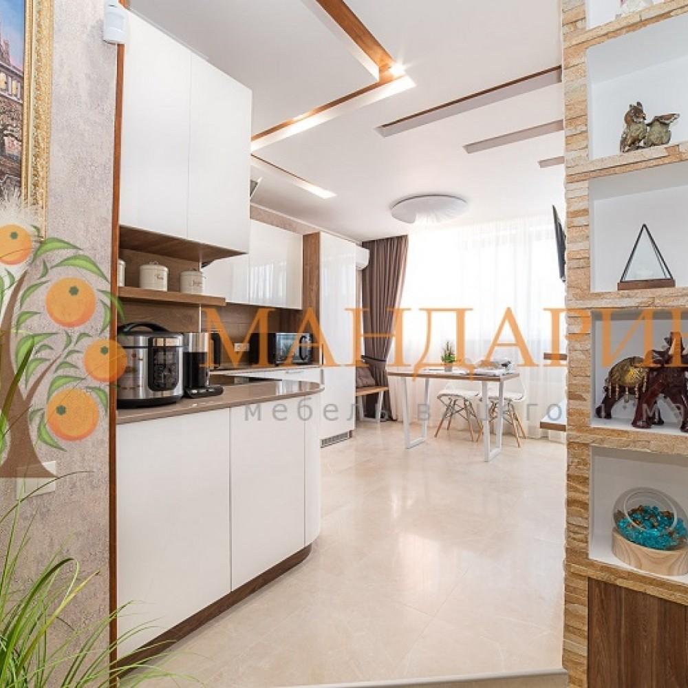 Кухня Белый Лофт