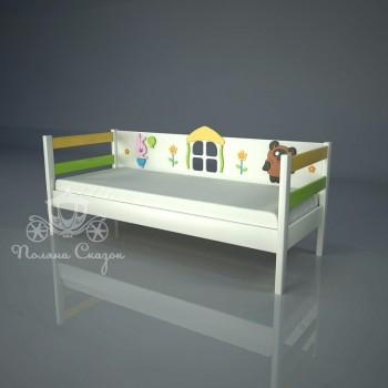 Кровать декорированная Винни
