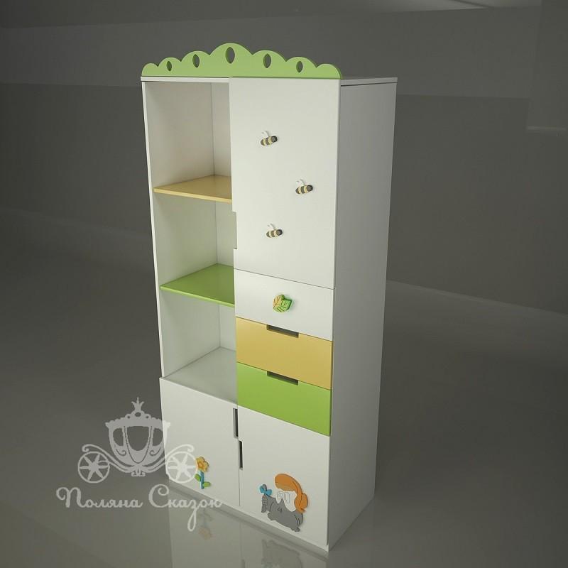 Шкаф-стеллаж Винни