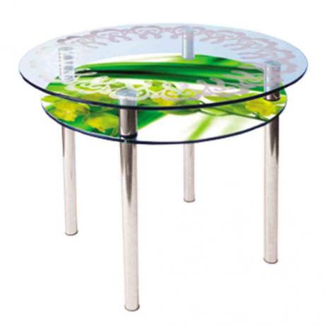 Стеклянный стол КС 3