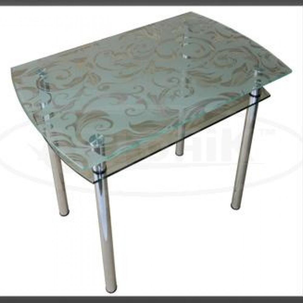 Стеклянный стол КС 4