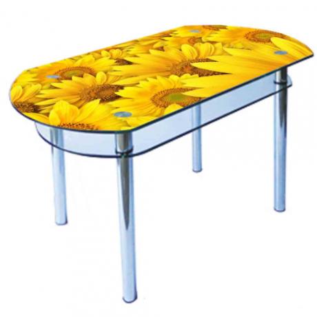 Стеклянный стол КС 6