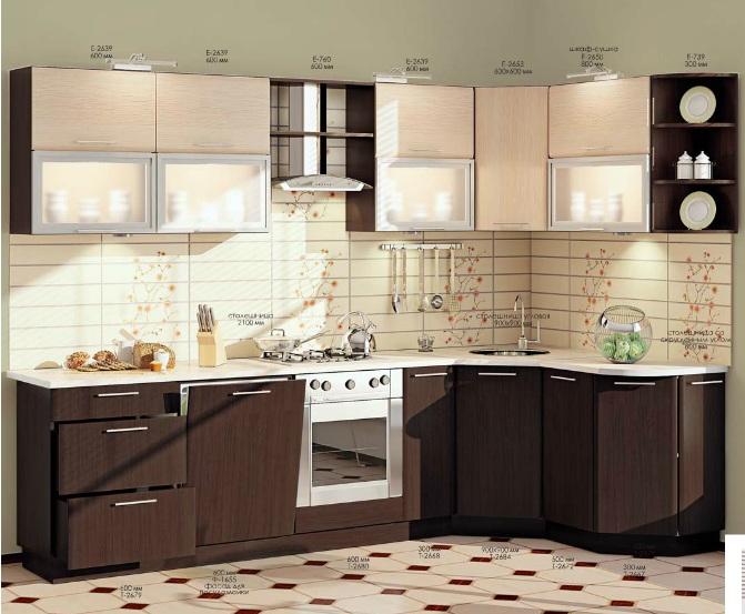 мебель кухни каталог фото и размеры и цены